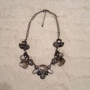 Jewelry - Black and Gray Rhinestone Necklace